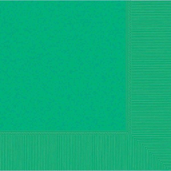Festive Green 3-Ply Dinner Napkins, 20ct