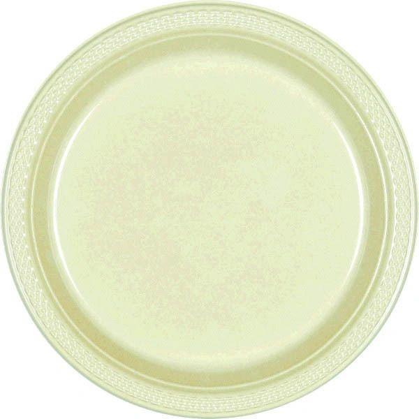 "Leaf Green Dinner Plates, 10 1/4"" - 20ct"