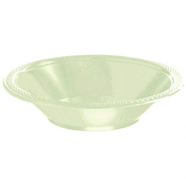 Leaf Green Plastic Bowls, 12oz - 20ct