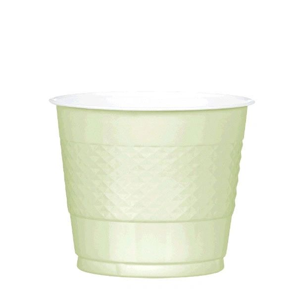 Leaf Green Plastic Cups, 9 oz - 20ct