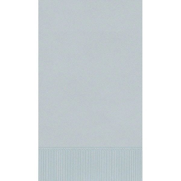 Silver 3-Ply Guest Towels, 16ct