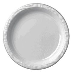 "Silver Dinner Plates, 10 1/4"" - 20ct"