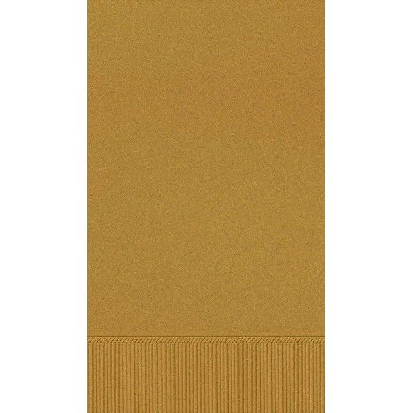 Gold 3-Ply Guest Towels, 16ct