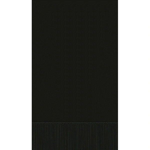 Jet Black 3-Ply Guest Towels, 16ct