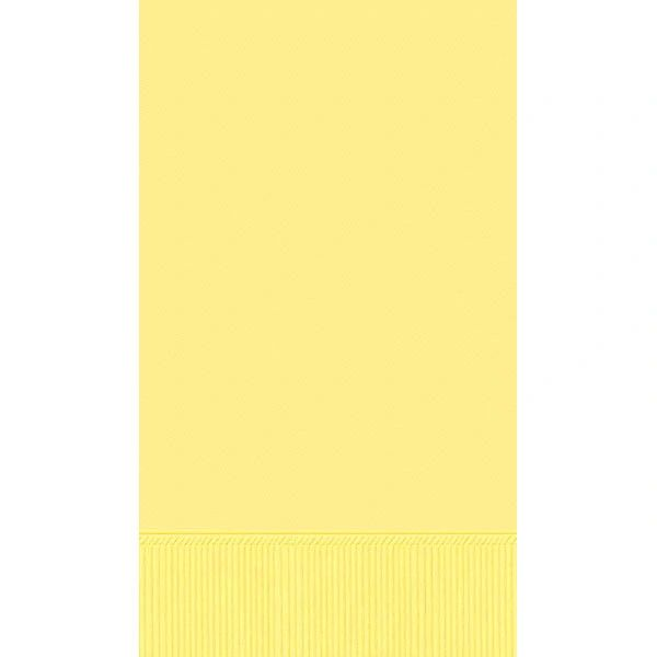 Light Yellow 3-Ply Guest Towels, 16ct