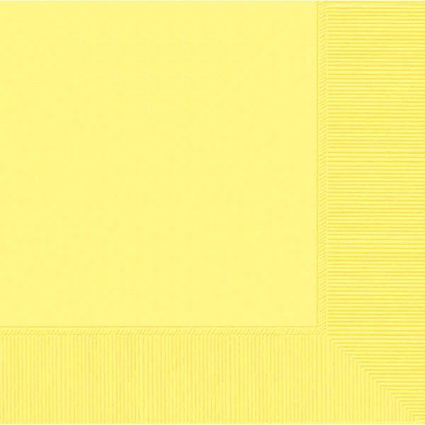 Light Yellow Luncheon Napkins, 50ct