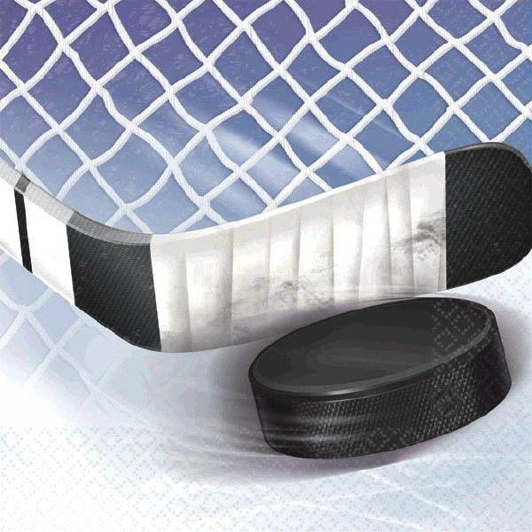 NHL Ice Time! Beverage Napkins