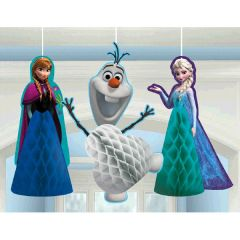 ©Disney Frozen Honeycomb Decorations