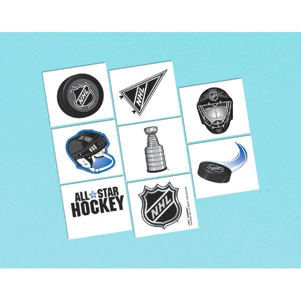 NHL Ice Time! Tattoos