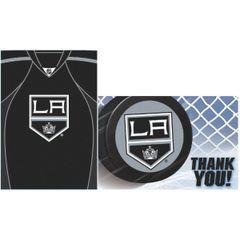 Los Angeles Kings Invite & Thank You Set