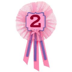 2nd Birthday Girl Award Ribbon