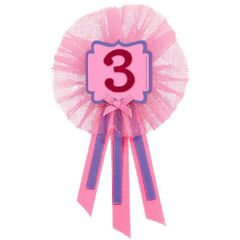 3rd Birthday Girl Award Ribbon
