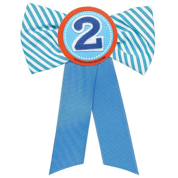 2nd Birthday Boy Award Ribbon