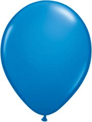 "15 Dark Blue, Qualatex 11"" Latex Balloon 