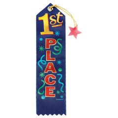 1st Place Recognition Ribbon