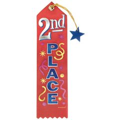 2nd Place Recognition Ribbon