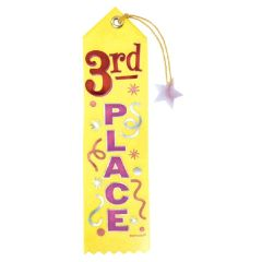 3rd Place Recognition Ribbon