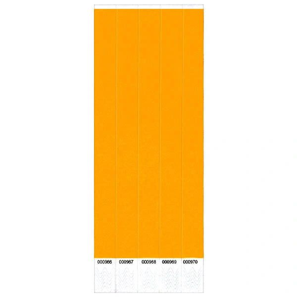 Orange Wristbands, 250 ct.