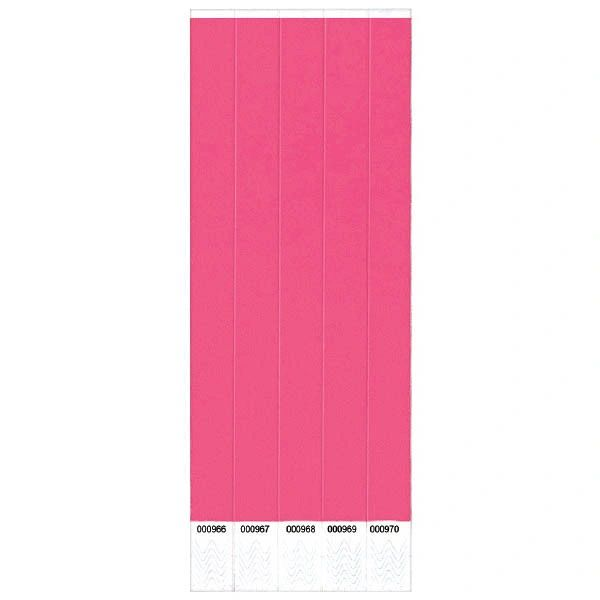 Pink Wristbands, 250 ct.