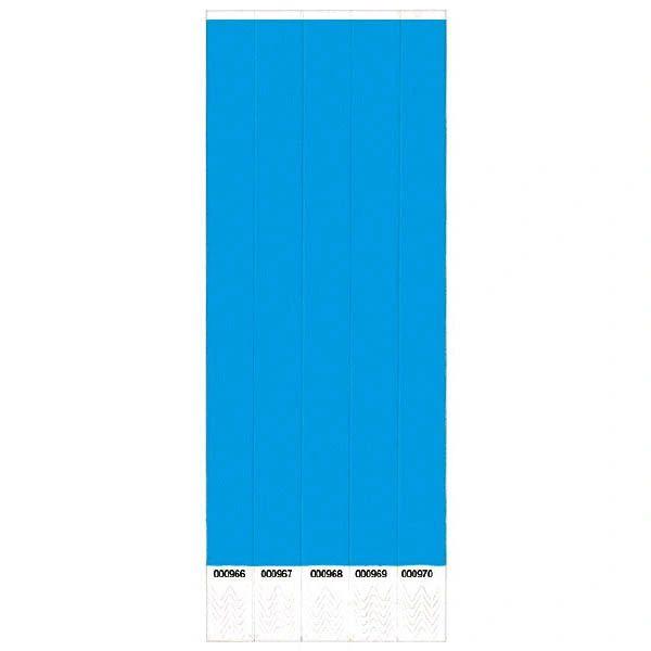 Blue Wristbands, 500 ct.