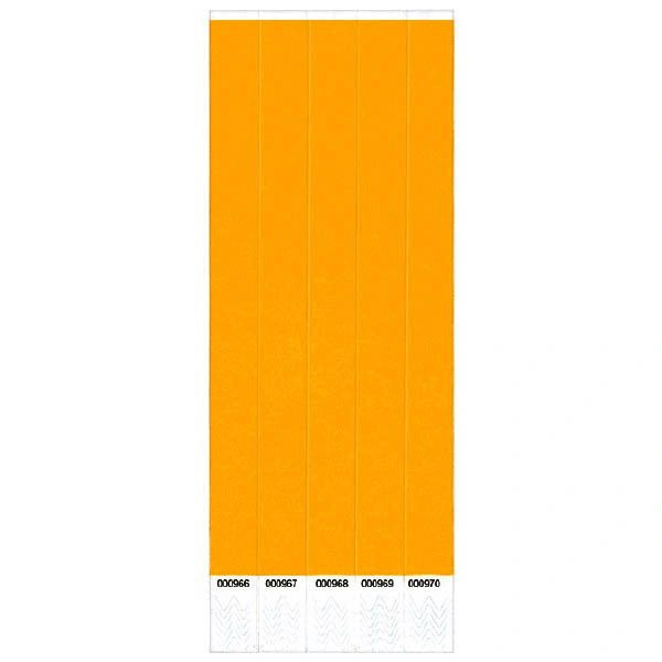 Orange Wristbands, 500 ct.