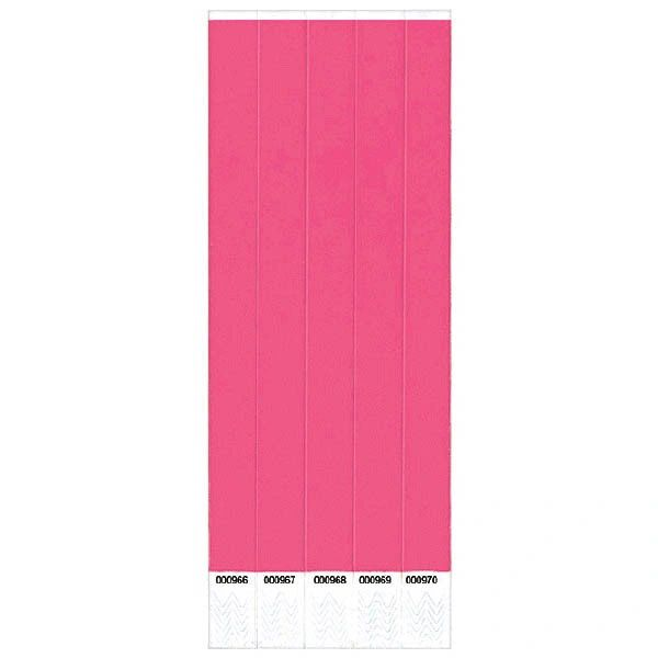 Pink Wristbands, 500 ct.