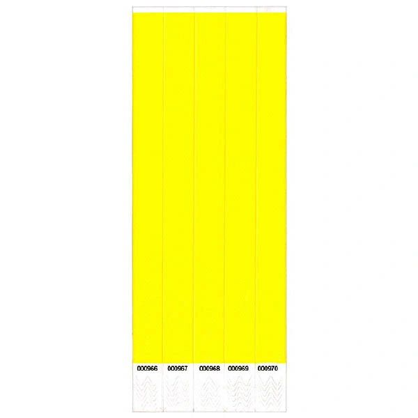 Yellow Wristbands, 500 ct.