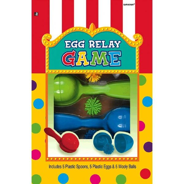 Egg Relay Game