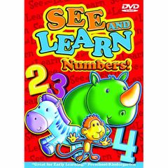 Drew's Famous See & Learn Numbers DVD