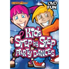 Drew's Famous Kids Step by Step Party Dances DVD