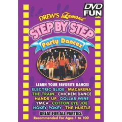 Drew's Famous Step by Step Party Dance DVD