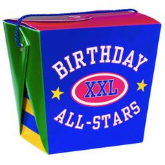 Large Birthday All-Stars Varsity Pail