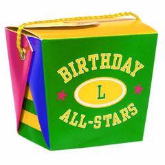 Small Birthday All-Stars Varsity Pail