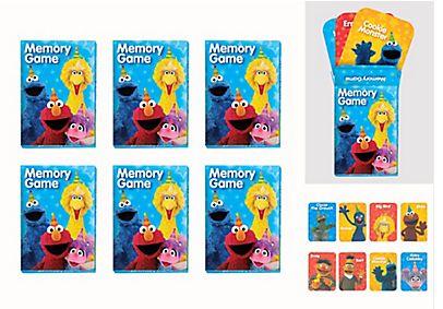 Sesame Street® Memory Game Favors, 6ct