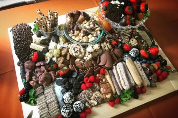 THE ULTIMATE CHOCOLATE LOVERS PLATTER  Appetizer starter nibble hors d'oeuvre cocktail snack taster