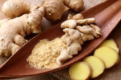 Ginger Dried Pieces and Ground