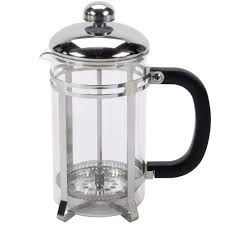 Glass / Stainless Steel French Coffee Press 33oz