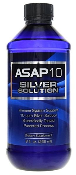Asap 10 ppm Silver Solution 8oz