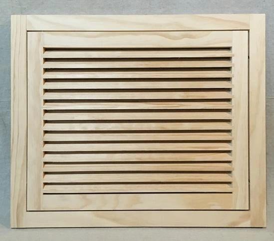 22x20 Wood Return Air Filter Grille Woodairgrille Com