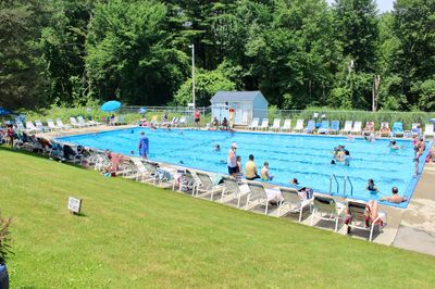 The South Hadley Swim Club is open to current members in good standing and their documented guests