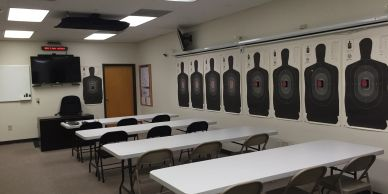 Firearms Training, Personal Defense, Weapons Training, Indoor Target Practice, NC Firearms Training