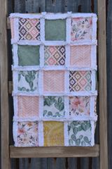 Desert Floral Baby Rag Quilt