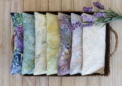 Batik Lavender-Filled Eye Pillows