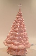21 inch Large Pink Christmas Tree