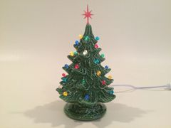8 inch Small Green Christmas Tree