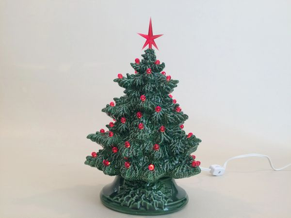 10 inch Small Green Fir Christmas Tree