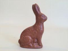 "6"" Fake Chocolate Bunny"