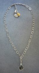 Beach Floater Necklace in Sterling Silver