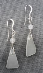 Beach Glass Earrings – Small