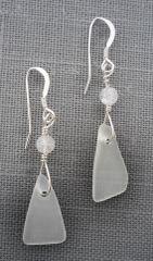 Beach Glass Earrings – Small